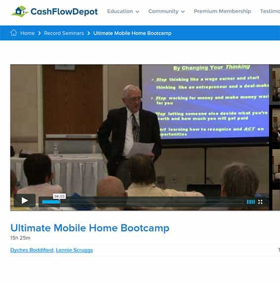 Ultimate Mobile Home Bootcamp