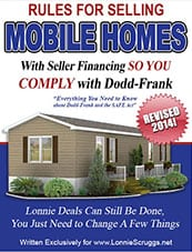 Rules for Selling Mobile Homes